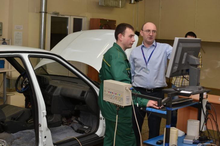 Диагностика двигателей с электронной системой впрыска топлива